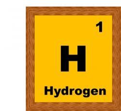 Element clipart hydrogen