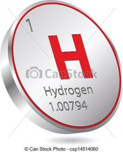 Elemental clipart hydrogen