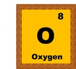 Element clipart oxygen