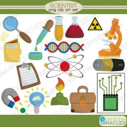 Elements clipart science