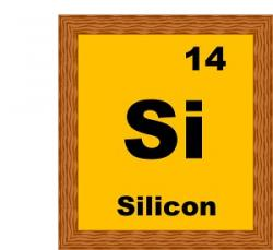Element clipart silicon