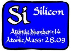 Elemental clipart silicon