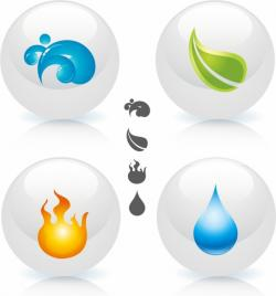 Elements clipart nature
