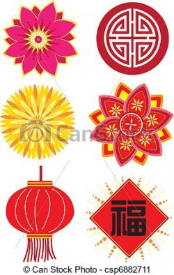 Elements clipart chinese