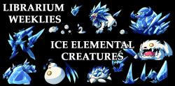 Elemental clipart banner