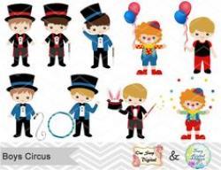 Elemental clipart circus