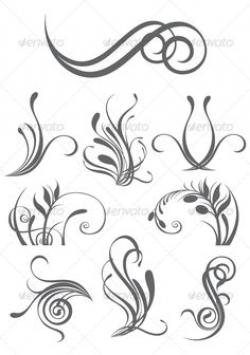 Elemental clipart floral