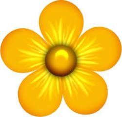 Floral clipart flower petal