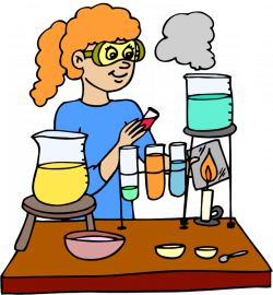 Laboratory clipart scientific method