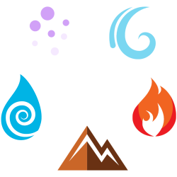 Elemental clipart wind