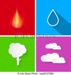 Elements clipart air