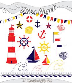 Sailing Boat clipart nautical ship