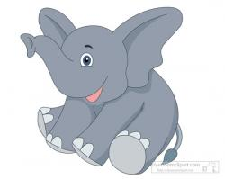 Asian Elephant clipart baby elephant