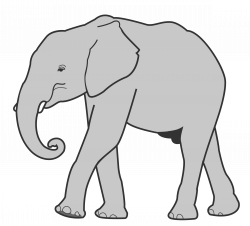 Asian Elephant clipart big elephant