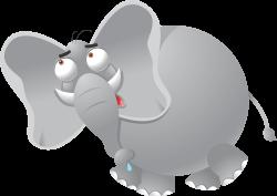 Weird clipart elephant