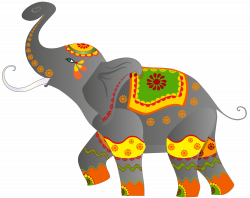 Asian Elephant clipart indian elephant