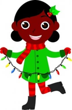 Elf clipart african american