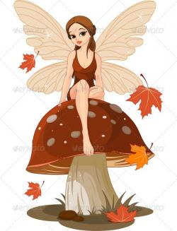 Elf clipart autumn