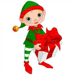 Elf clipart back