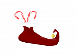 Elf clipart boot