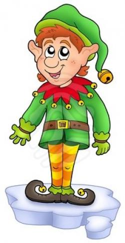 Elf clipart cartoon