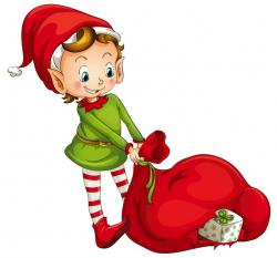 Elfen clipart sneaky