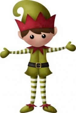 Elf clipart christmas spirit