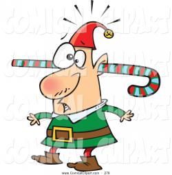 Elf clipart confused