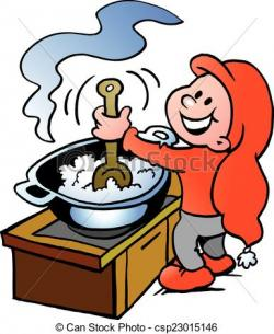Elf clipart cooking