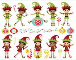 Elf clipart country