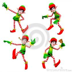 Elf clipart dancing