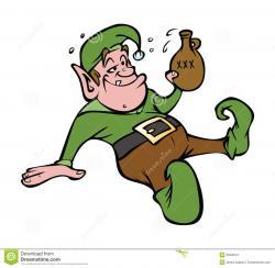 Elf clipart drunk