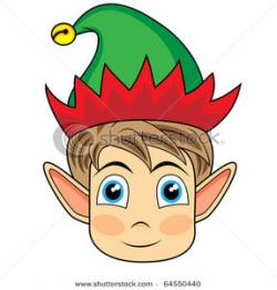 Elf clipart elf face