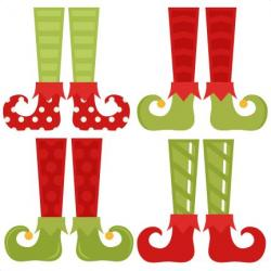 Elfen clipart elf shoe