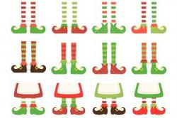 Elf clipart foot