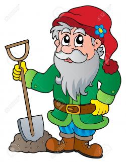 Gnome clipart green