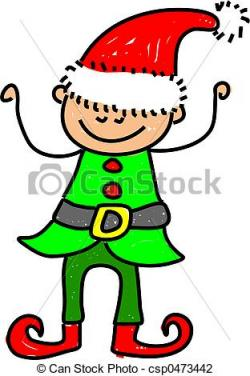 Elf clipart little