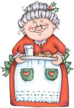 Elfen clipart mrs claus