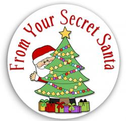 Holley clipart secret santa