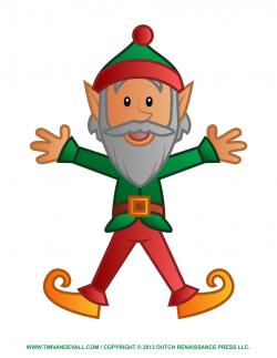 Elf clipart sick