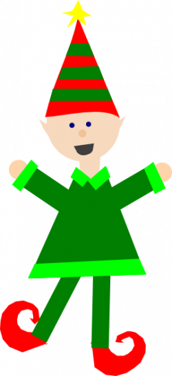 Elf clipart simple