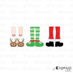 Elf clipart slipper