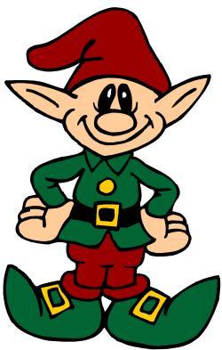 Elf clipart small