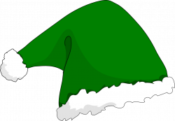 Elfen clipart green santa hat