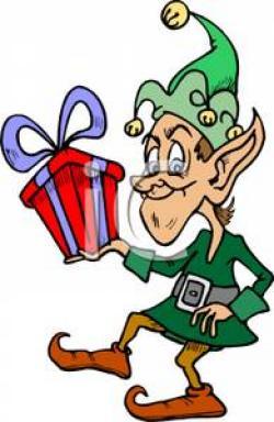 Elf clipart sneaky