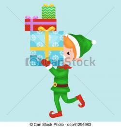 Elf clipart stacked