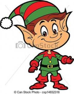 Elf clipart worried