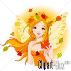 Elfen clipart autumn