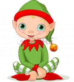 Elfen clipart christmas theme