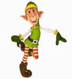 Elfen clipart dancing